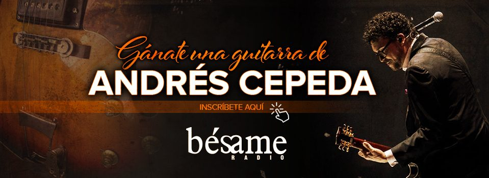 Gánate una guitarra autografiada por Andrés Cepeda