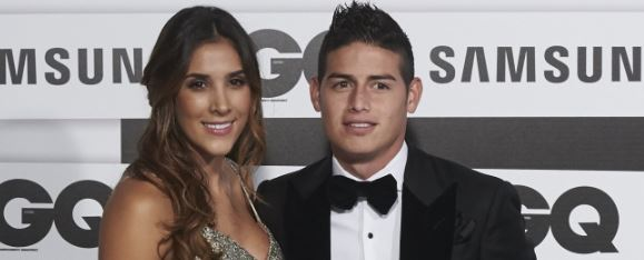 Foto: Daniela Ospina y James Rodriguez / Carlos Alvarez / Getty Images