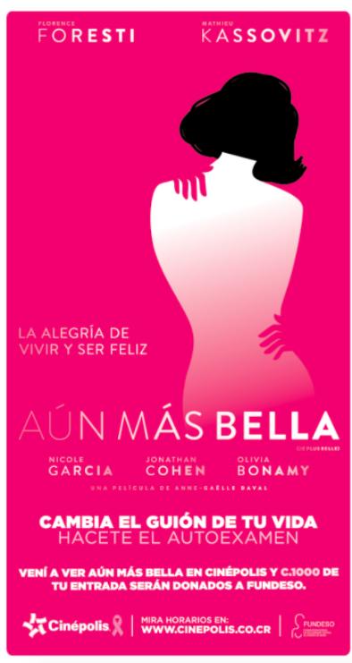 """La película """"Aún más bella"""" ayuda a FUNDESO - Imagen 1"""