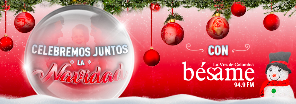 Feliz Navidad - La Voz de Colombia - Bésame