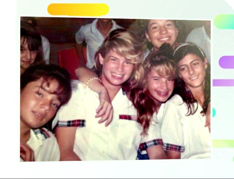 [En Fotos] Así eran algunas famosas colombianas en su época de escolar - Imagen 1
