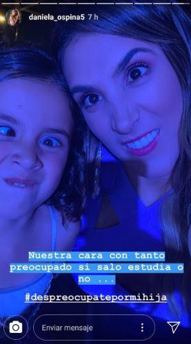 Fuerte respuesta de Daniela Ospina a quienes critican su hija - Imagen 1