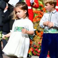 La princesa de Inglaterra cumple 4 años