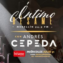 ínitimo con Andrés Cepeda Besamefm