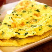 Receta del día: Tortilla de pollo, espinaca y queso