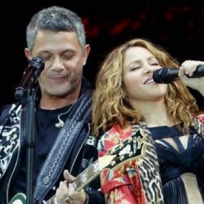 Sahkira canta con Alejandro Sanz en La Gira