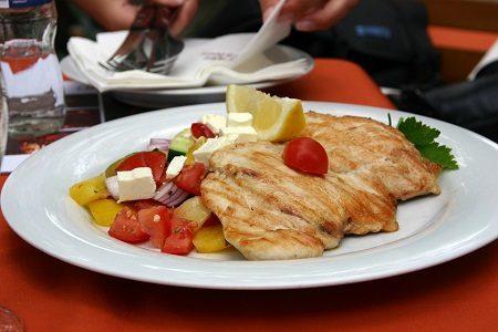 Receta del día: Pechuga con tomates cherry