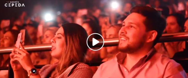 VIDEO | Así fue el concierto Íntimo Bésame con Andrés Cepeda