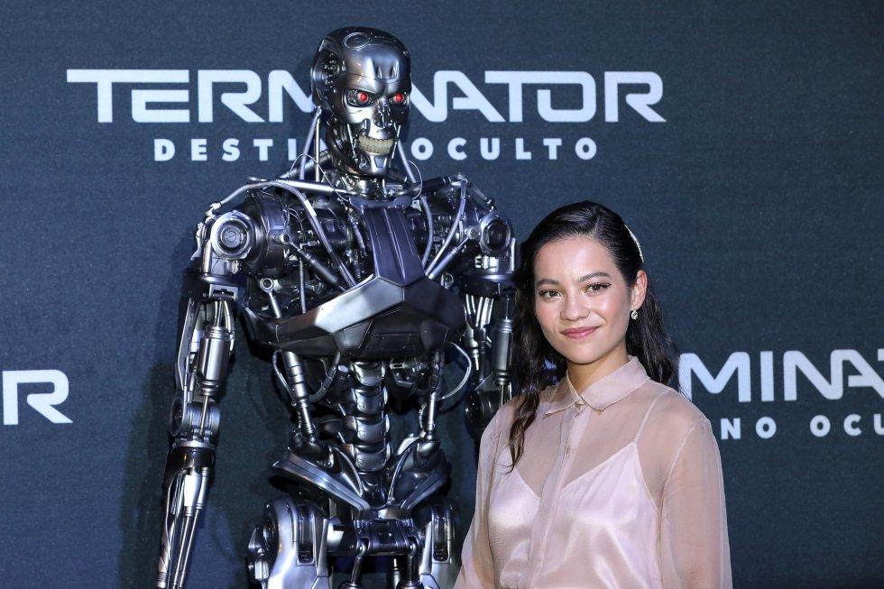 Natalia Reyes brilló en la premier de 'Terminator' - Imagen 2