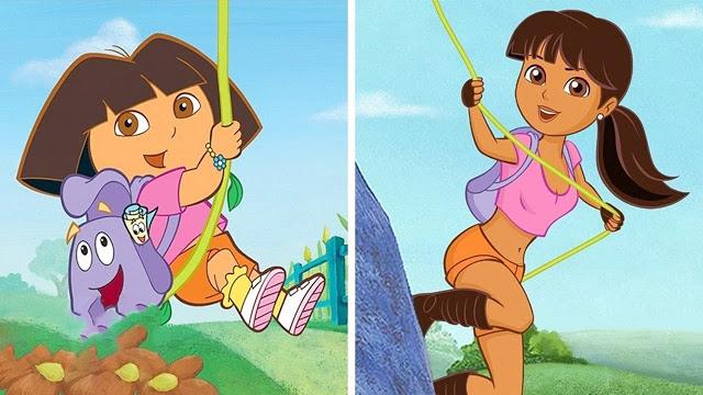 Conozca cómo lucirían algunos personajes de nuestra infancia de mayor edad - Imagen 1