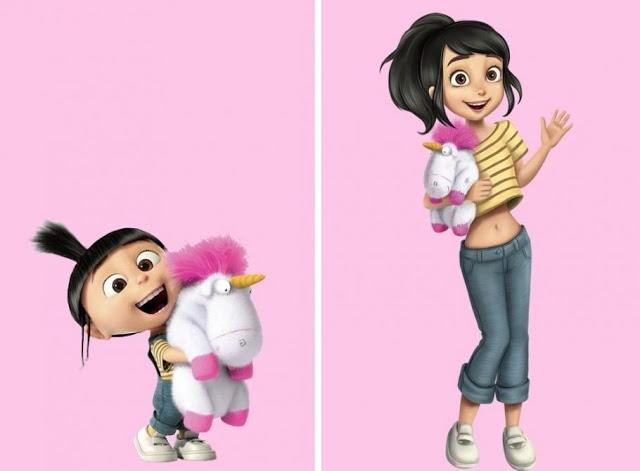 Conozca cómo lucirían algunos personajes de nuestra infancia de mayor edad - Imagen 2
