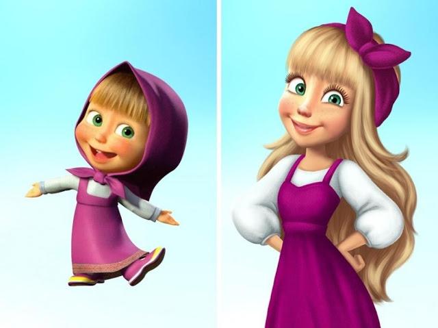 Conozca cómo lucirían algunos personajes de nuestra infancia de mayor edad - Imagen 9