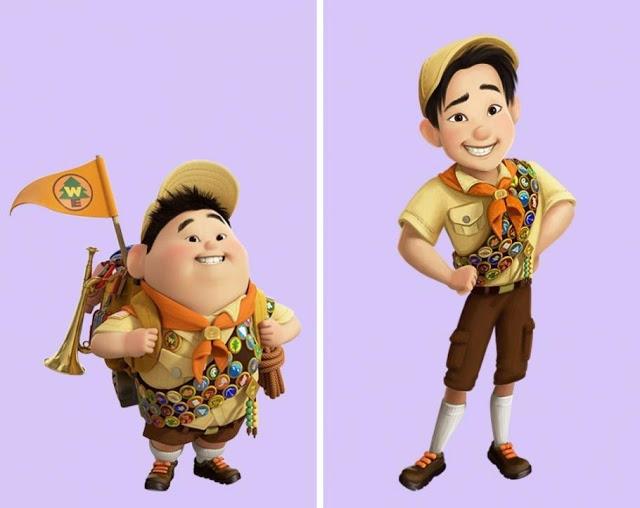 Conozca cómo lucirían algunos personajes de nuestra infancia de mayor edad - Imagen 10