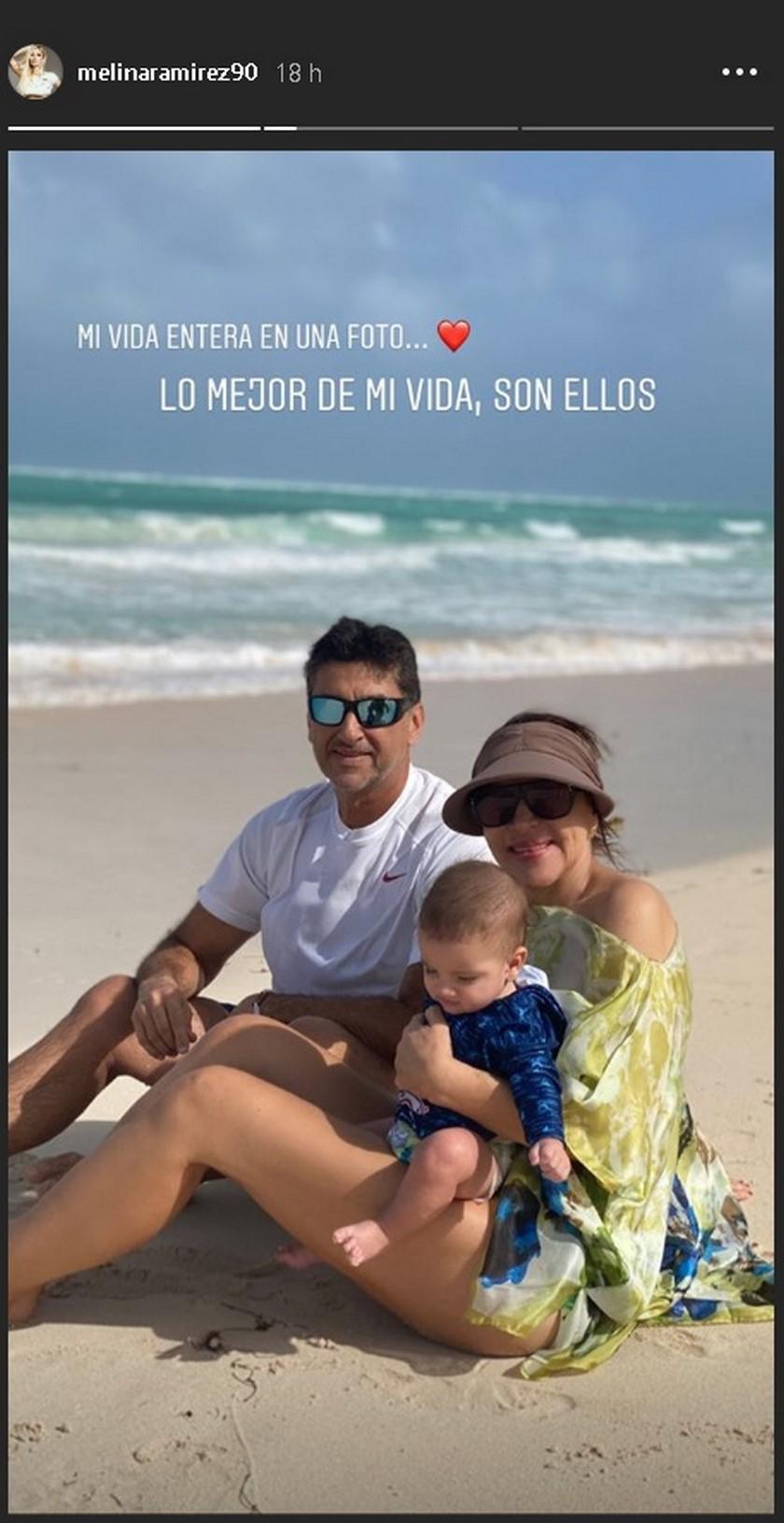 Así pasaron las vacaciones Melina Ramírez y su hijo Salvador en Punta Cana - Imagen 3