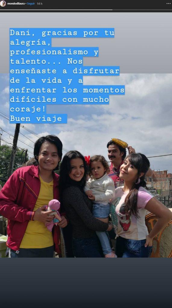 Famosos colombianos lamentan la muerte de Daniel Rengifo - Imagen 1
