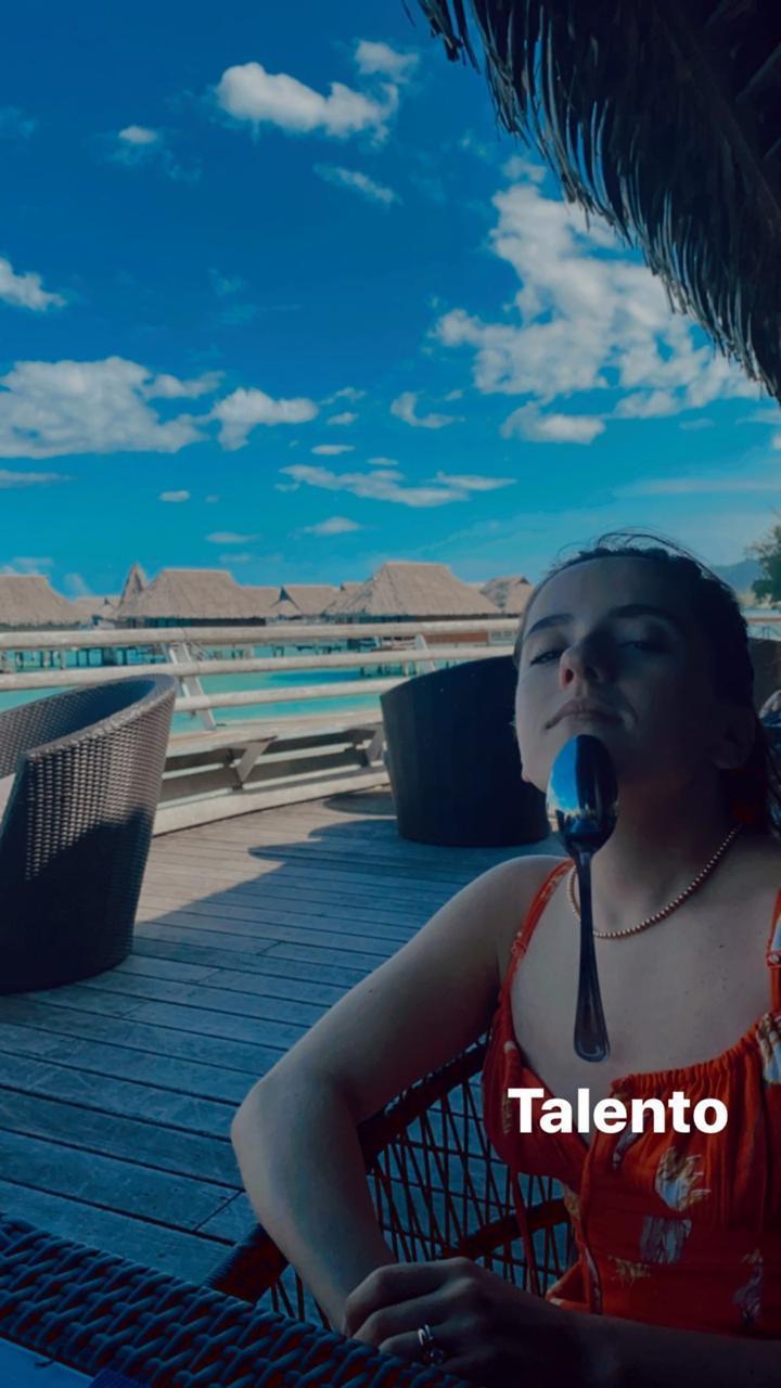 Evaluna y Camilo disfrutan de su luna de miel en una paradisíaca isla del Pacífico - Imagen 1