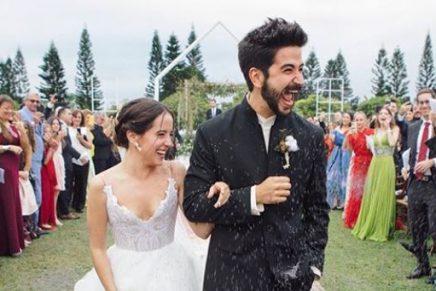 Evaluna Montaner y Camilo Echeverry se casaron en Miami
