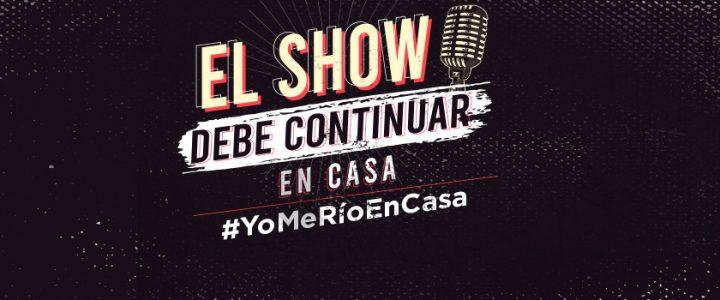 Sigue la transmisión en vivo de #YoMeRíoEnCasa
