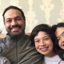 Así celebró Santiago Rodríguez haber superado la leucemia