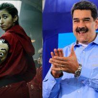 """Nicolás Maduro canta el Bella Ciao de La casa de Papel: """"Los actores son como familia"""""""