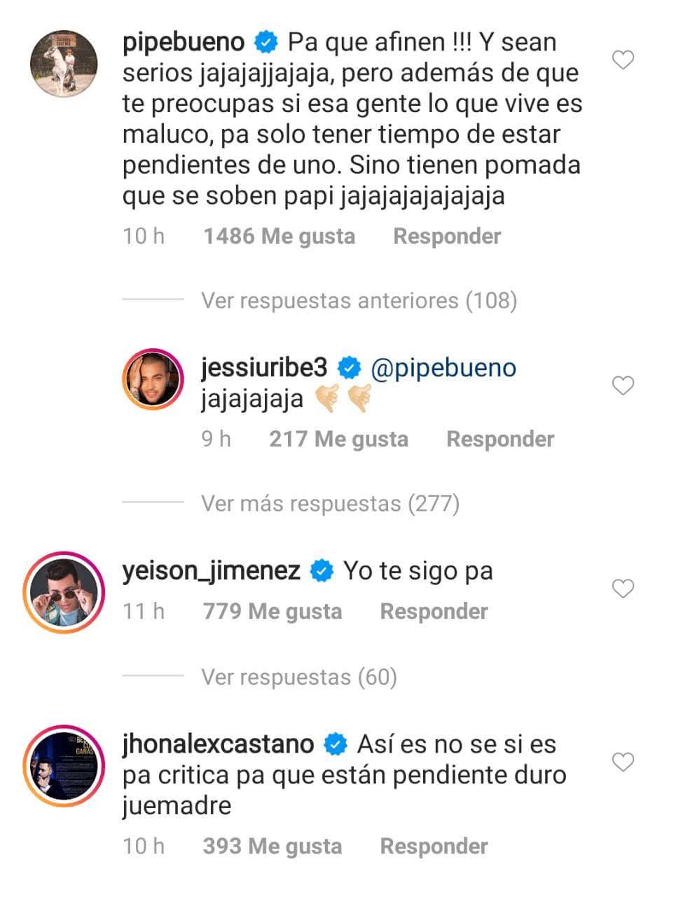 Jessi Uribe envió fuerte advertencia a quienes lo critican - Imagen 1