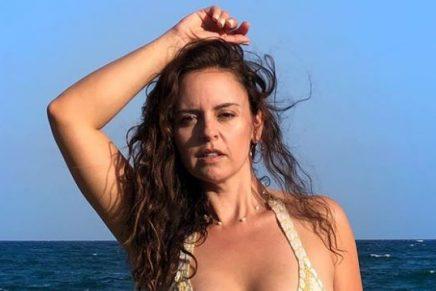 """""""Qué importan un par de kilos más"""": Liliana González luce su sensual figura"""