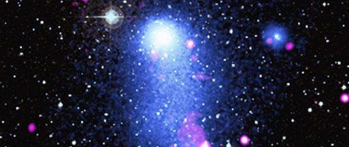 Abell 2384, el hermoso puente de gas galáctico que descubrió la NASA