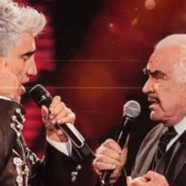 Alejandro Fernández y Vicente Fernández lanzan el video de 'Mentí