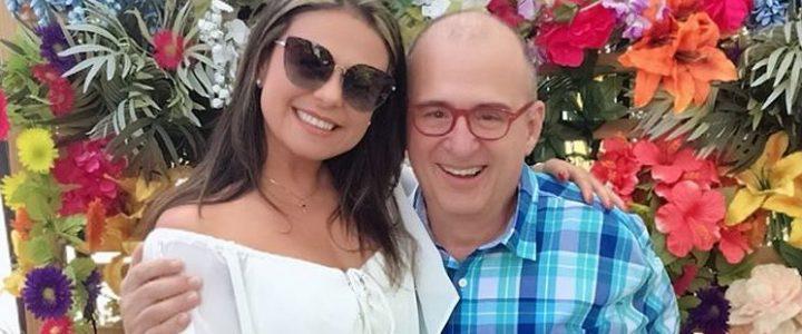 Ginneth Fuentes, viuda de Jota Mario, envió un conmovedor mensaje recordando al presentador en su año de muerte