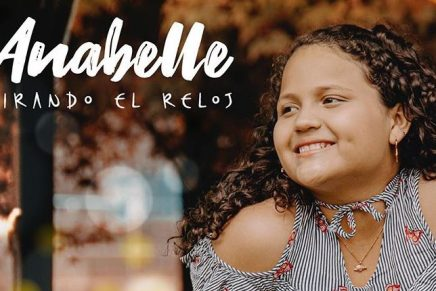 'Mirando el reloj', la nueva canción de Anabelle, ganadora de 'La Voz Kids'
