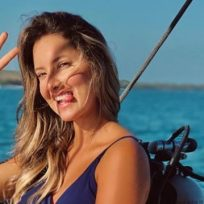 Daniella Álvarez bailó por primera vez luego de su operación