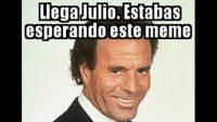Los mejores memes con la imagen de Julio Iglesias por el mes de julio