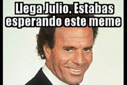 Los mejores memes con la imagen Julio Iglesias por el mes de julio