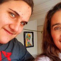 Luly Bossa conmovió a sus seguidores al publicar un video bailando con su hijo