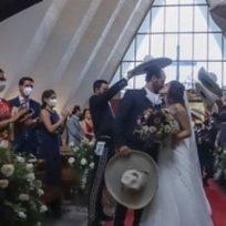 Hija de Alejandro Fernández se casó en plena cuarentena