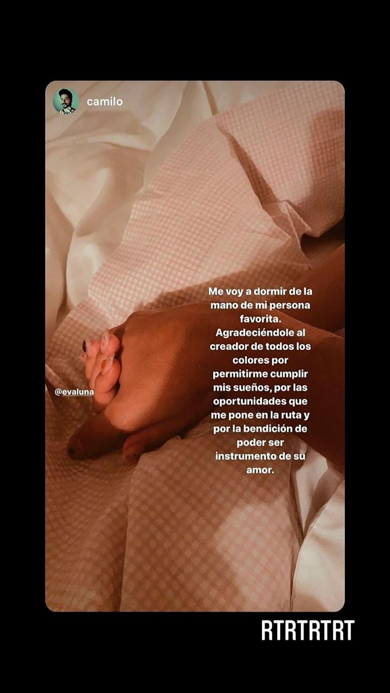 Evaluna Montaner y Camilo sorprendieron a sus fanáticos con una publicación en la cama