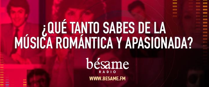 ¿Qué tanto sabes de la música romántica y apasionada?