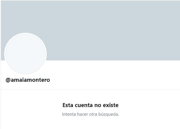 Amaia Montero cerró su cuenta de Twitter luego de criticar a La Oreja de Van Gogh
