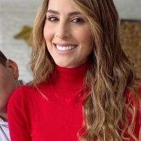 Carolina Soto reveló por qué su esposo no tiene redes sociales
