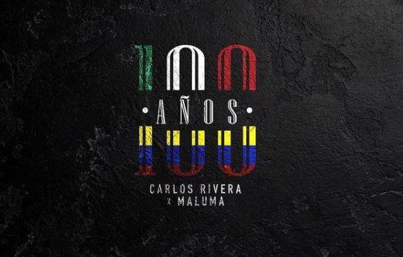 """Carlos Rivera y Maluma, unen su talento en su nuevo sencillo y video """"100 años"""""""