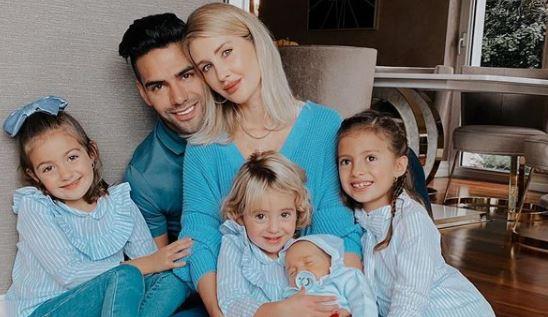 Falcao García publicó fotos de su familia en Turquía organizando la navidad