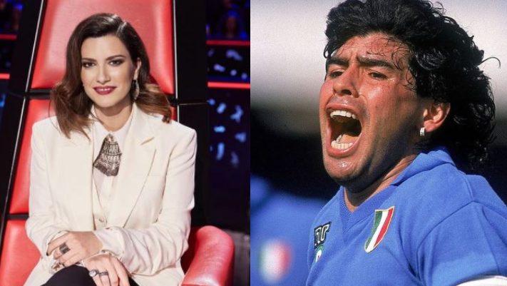 Laura Pausini es criticada en redes por algunos comentarios contra Diego Armando Maradona
