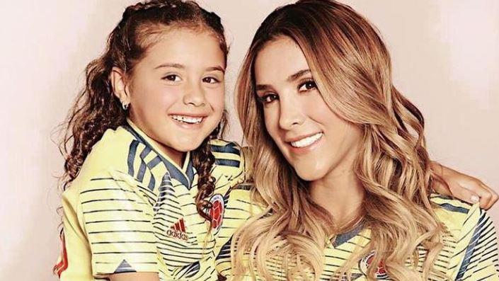 Salomé, la hija de James Rodríguez, fue nominada como mejor influenciadora adolescente