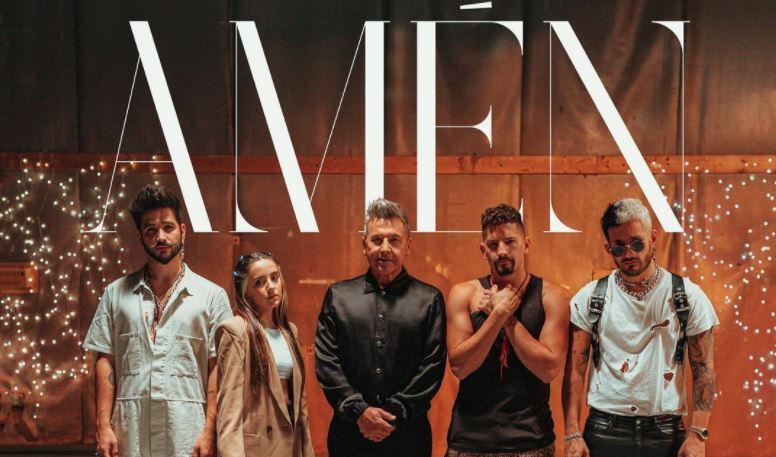"""""""Amén"""", la nueva canción de Ricardo Montaner, Mau y Ricky, Camilo y Evaluna Montaner"""
