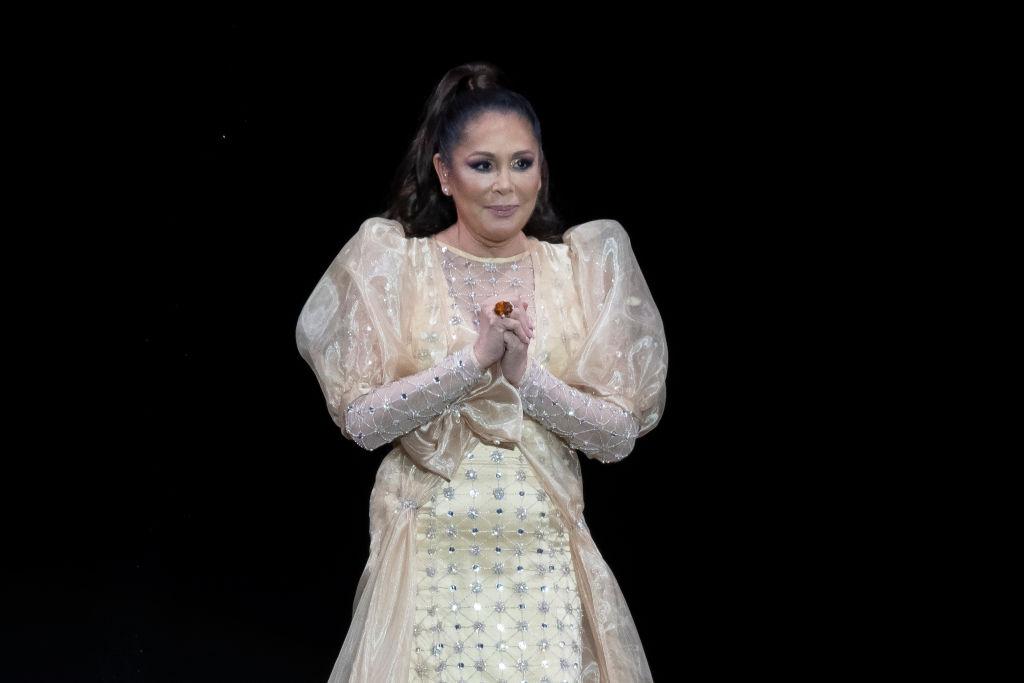 Isabel Pantoja anunció su regreso a los escenarios