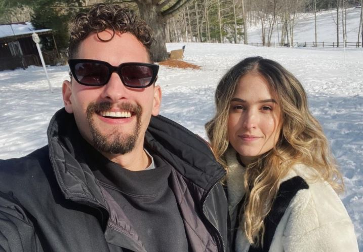 Video: el percance automovilístico que vivieron Mau Montaner y su novia