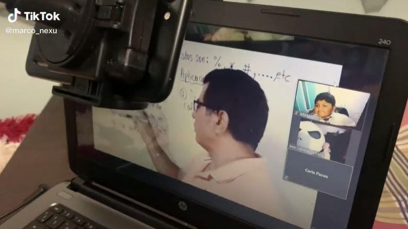 Truco clases virtuales Niño se vuelve viral por curioso truco para evitar las clases virtuales