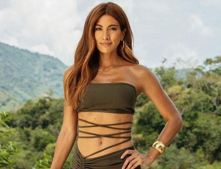 Andrea Serna se puso un mini body y en redes la tildaron de anoréxica