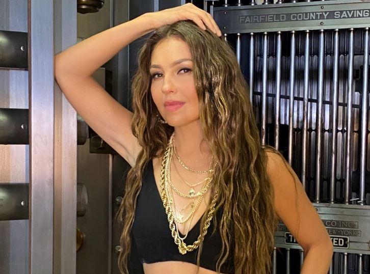 Thalía posó ligerita de ropa para enviar un contúndete mensaje a las mujeres