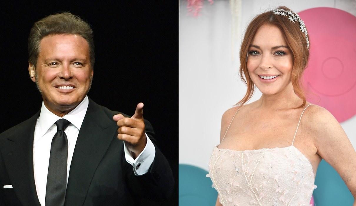 Aunque fue algo pasajero, Luis Miguel sostuvo una relación con Lindsay Lohan